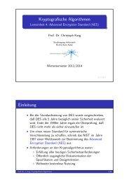 Handouts - Prof. Dr. Christoph Karg - Hochschule Aalen