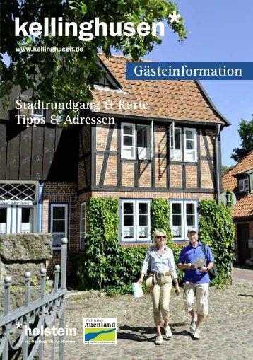 Broschüre Gästeinformation Kellinghusen - Stadtmarketing ...