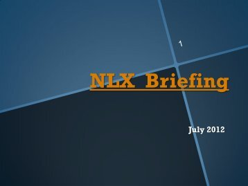 NLX Briefing - AJLA