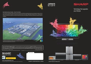 JAPAN'S No.1 LCD TV - Sharp India Limited