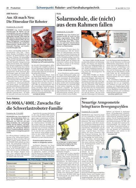 Solarmodule, die (nicht) aus dem Rahmen fallen - Produktion.de