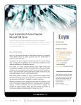 Exym Accelerates Its Fusion Powered Microsoft SQL Server - Fusion-io - Page 3