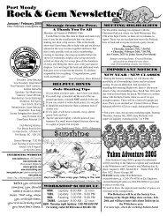 2005 JanFeb.pdf - Port Moody Rock & Gem Club