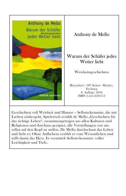 Anthony Newsletter Warum Schäfer Der Wetter Mello Liebt Jedes De nwXOk8P0