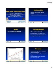 When to Get an Echocardiogram Disclosure Slide Thanks Learning ...
