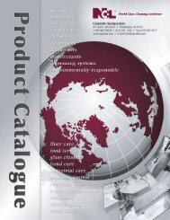 Full Line Product Catalog 2013 - National Chemical Laboratories