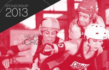 to download a PDF of our Sponsorship P - Carolina Rollergirls