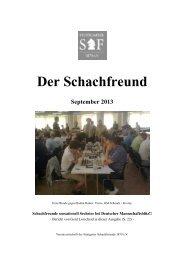 Der Schachfreund - Stuttgarter Schachfreunde 1879 e.V.