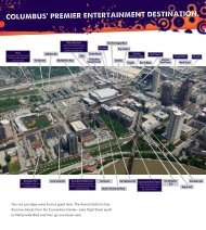 Download a Printable Meeting Planner Packet (PDF of - Arena District