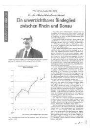 Pressespiegel April 2013 - Bayerisches Hafen-Forum eV