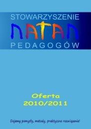 Untitled - Oferta NatanaOferta Natana - Stowarzyszenie Pedagogów ...