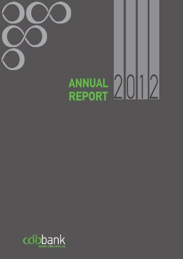 Annual Report 2012 - The Cyprus Development Bank