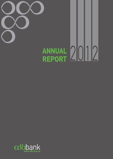 Annual Report 2012 - The Cyprus Development Bank