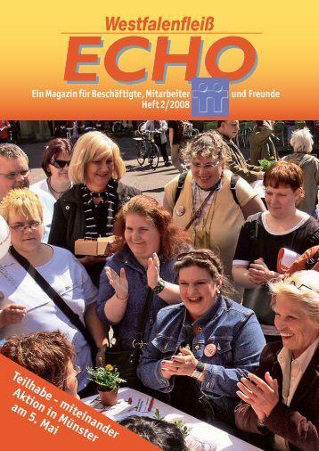 Ausgabe 26 - 02 / 2008 - Westfalenfleiß GmbH