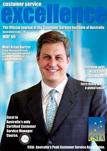 Issue 16 - Customer Service Institute of Australia