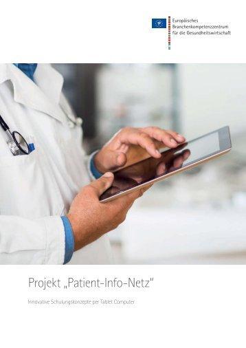 Projekt Patienten Infonetz - Pfeffer-Finanzen