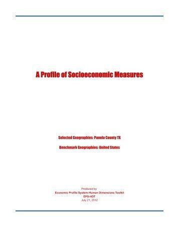 48365 - Panola County TX Measures - Headwaters Economics