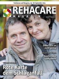 PDF-Datei des REHACARE-Magazins 2013 ansehen oder ...