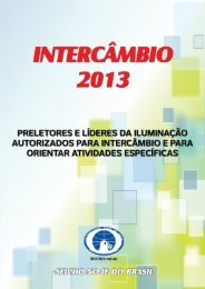 Intercâmbio 2013 - SEICHO NO IE DO BRASIL