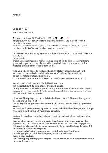 rennelch Beiträge: 1102 dabei seit: Feb 2008 1 von 1 erstellt am ...