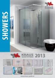 showers - Kraus GmbH