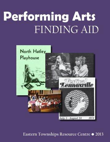 Performing Arts - ETRC