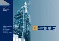 GAS TURBINE HEAT RECOVERY STEAM GENERATORS - STF SpA
