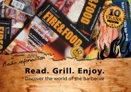 Read. Grill. Enjoy. - Fire&Food