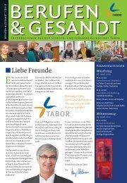 BuG 1/2012 online - und Lebensgemeinschaft TABOR