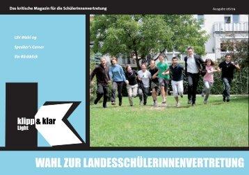 WAHL zur LAndesscHüLerInnenvertretung - AKS Linz