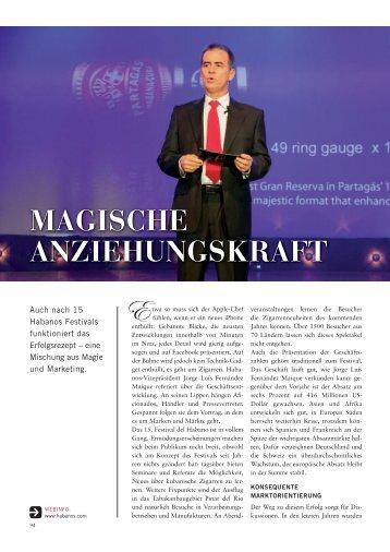MAGISCHE ANZIEHUNGSKRAFT - Premium Blog