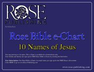 10 Names of Jesus - High Tech Ministries
