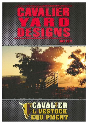 Cavalier Livestock Equipment Cattle Yard Designs PDF