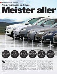 Neun Testsieger im Finale - Volkswagen AG
