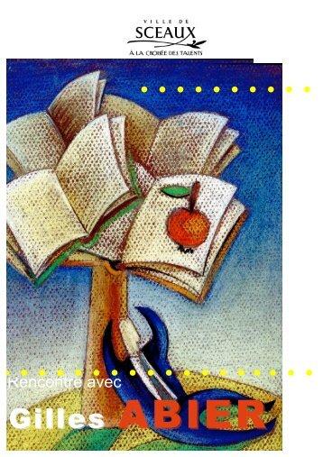 Gilles ABIER - Bibliothèque municiaple de Sceaux