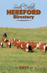 herefords - SDHA