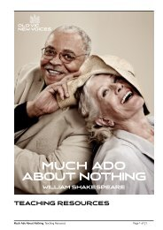 Much Ado About Nothing - Old Vic New Voices