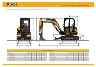jcb minibagger | 8025lc/8025/8030/8035 zts - JCB Baumaschine