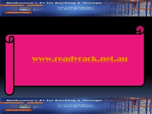 Warehouse Racking Sale Melbourne