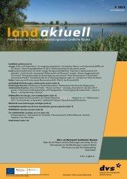 landaktuell 5/2013 - Verband der Teilnehmergemeinschaften Baden ...