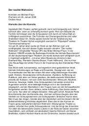 Der nackte Wahnsinn - Peter Rein