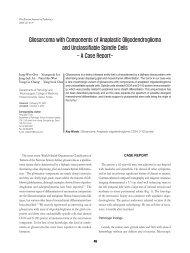 Gliosarcoma with Components of Anaplastic Oligodendroglioma ...