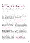 Swiss Life-Ratgeber: Die eigenen vier Wände - Page 5