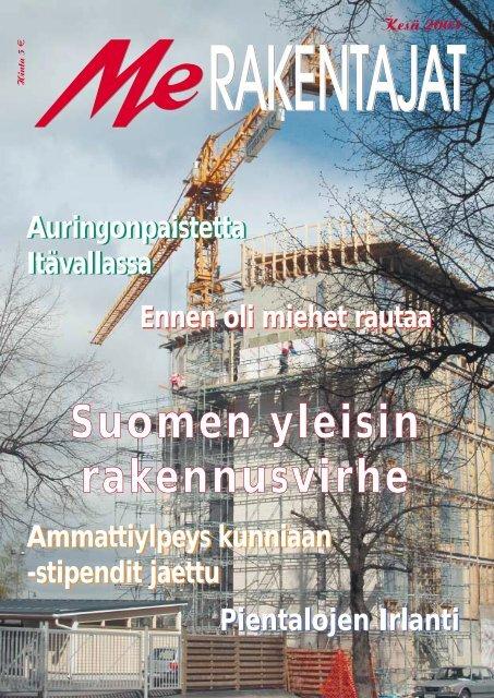 Me Rakentajat 2/03 pdf - Rakentaja.fi