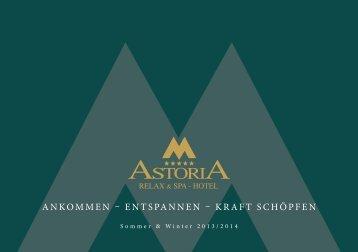 Hotelprospekt - Relax & Spa Hotel Astoria Seefeld