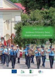 pobierz folder [pdf] - Gminny Ośrodek Kultury w Grabowcu