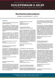 Ausgabe Juli 2013, privat - Schleifenbaum & Adler