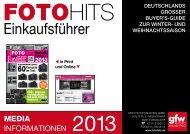 Einkaufsführer - FOTO HITS 1-2/2014 - GFW PhotoPublishing GmbH