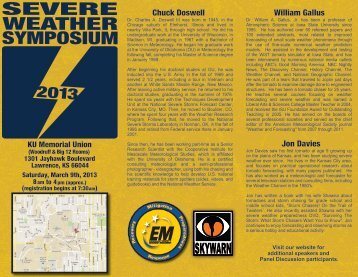 Douglas County Kansas - Severe Weather Symposium Flyer (PDF ...