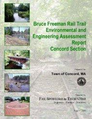 Bruce Freeman Rail Trail Environmental & Engineering Assessment